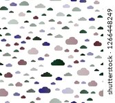 dark multicolor  rainbow vector ... | Shutterstock .eps vector #1266448249