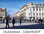 vilnius  lithuania   april 04 ... | Shutterstock . vector #1266451879
