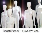 white naked mannequin over... | Shutterstock . vector #1266494926