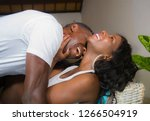 young attractive and happy... | Shutterstock . vector #1266504919