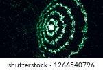 3d plexus galaxy. abstract... | Shutterstock . vector #1266540796
