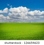 Green Meadow. Composition Of...