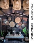 traditional kitchen of thailand | Shutterstock . vector #1266592969