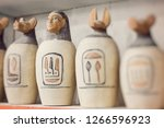 egyptian traditional culture... | Shutterstock . vector #1266596923