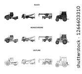 vector illustration of build... | Shutterstock .eps vector #1266603310