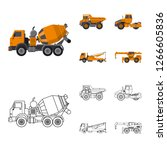 vector illustration of build... | Shutterstock .eps vector #1266605836
