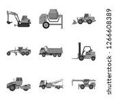 vector design of build and... | Shutterstock .eps vector #1266608389