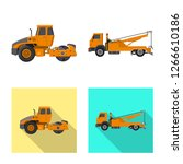 vector design of build and... | Shutterstock .eps vector #1266610186