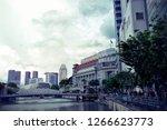 singapore   december 21  2018 ... | Shutterstock . vector #1266623773