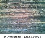 wooden board grunge old surface | Shutterstock . vector #1266634996