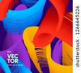 colorful background design.... | Shutterstock .eps vector #1266645226