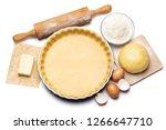 shortbread dough for baking... | Shutterstock . vector #1266647710