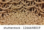 background of intertwined... | Shutterstock . vector #1266648019