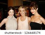 michelle trachtenberg with...   Shutterstock . vector #126668174