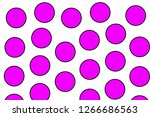 orbs background and geometric... | Shutterstock . vector #1266686563
