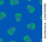 skeleton color distortion... | Shutterstock .eps vector #1266704080