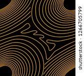 orange circles lines pattern... | Shutterstock .eps vector #1266705799