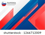 slovenia europe country flag... | Shutterstock .eps vector #1266712009