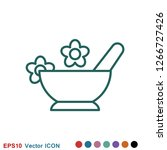 aromatherapy icon  accessory... | Shutterstock .eps vector #1266727426