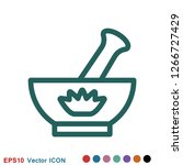aromatherapy icon  accessory... | Shutterstock .eps vector #1266727429