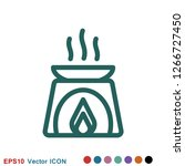 aromatherapy icon  accessory... | Shutterstock .eps vector #1266727450