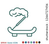 aromatherapy icon  accessory... | Shutterstock .eps vector #1266727456