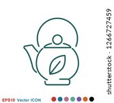 aromatherapy icon  accessory... | Shutterstock .eps vector #1266727459