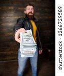 mafia business. man brutal...   Shutterstock . vector #1266729589