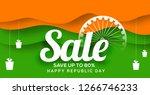 creative sale banner or sale...   Shutterstock .eps vector #1266746233
