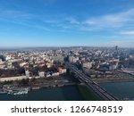 belgrade   aerial view | Shutterstock . vector #1266748519