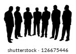 group of business people ... | Shutterstock .eps vector #126675446