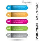 modern design template  can be... | Shutterstock .eps vector #1266784030
