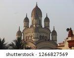 dakshineshwar kali temple... | Shutterstock . vector #1266827569