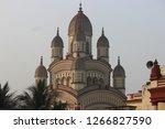 dakshineshwar kali temple... | Shutterstock . vector #1266827590