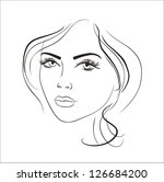 art sketching vector beautiful...