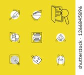 package icons set with editor ...