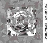 built up on grey camouflaged... | Shutterstock .eps vector #1266856459