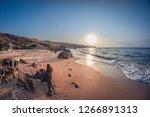 Beautiful Landscape  Rocky Sea...