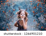 spirit of the forest in the... | Shutterstock . vector #1266901210