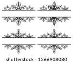 set of simple label decoration...   Shutterstock .eps vector #1266908080