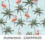 beautiful botanical vector... | Shutterstock .eps vector #1266944620