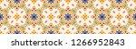 talavera pattern. azulejos...   Shutterstock .eps vector #1266952843