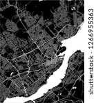 vector map of the city of...   Shutterstock .eps vector #1266955363