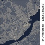vector map of the city of...   Shutterstock .eps vector #1266955369