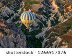 turkey  cappadocia  ballooning | Shutterstock . vector #1266957376