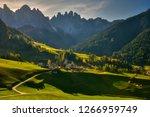santa maddalena  italy  church... | Shutterstock . vector #1266959749