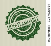 green non flammable distressed... | Shutterstock .eps vector #1267020919