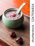 health porridge in the soup of... | Shutterstock . vector #1267036816