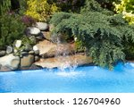 Swimming Pool Water Fall