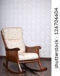 modern rocking chair near a... | Shutterstock . vector #126706604